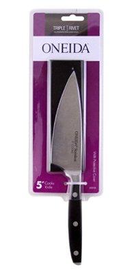 Oneida 55212 Taper Ground Blade Triple Rivet Cooks Knife