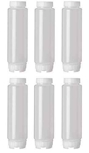 6 Pack FIFO 16 oz. Squeeze Bottles by FIFO