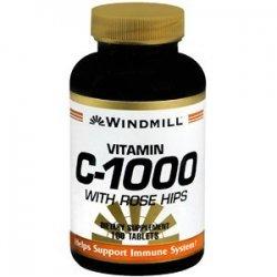 Vitamin C TABS 1000MG R/H WMILL Size: 100