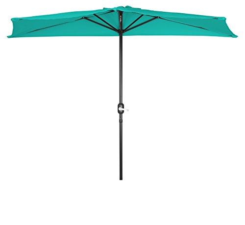 Trademark Innovations Patio Half Umbrellas