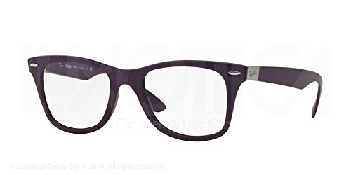 Ray Ban RX7034 5443 Violet Liteforce Frame 50 mm Optical Lens Eyeglasses - Liteforce Ban Eyeglasses Ray