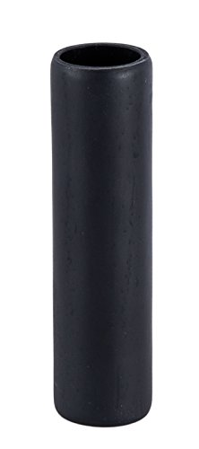 B&P Lamp 4 Inch Flat Black Polyresin Candle Cover - Candelabra Size