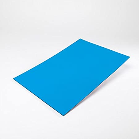 5x Magnetfolie DIN A4 zum Beschriften und Zuschneiden für Magnettafel,