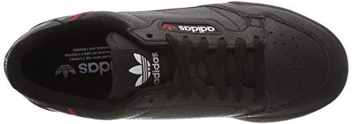 Black 80 Adidas Scarpe core Ginnastica Continental Core scarlet Navy Navy collegiate Uomo Nero Da 8q5waCq