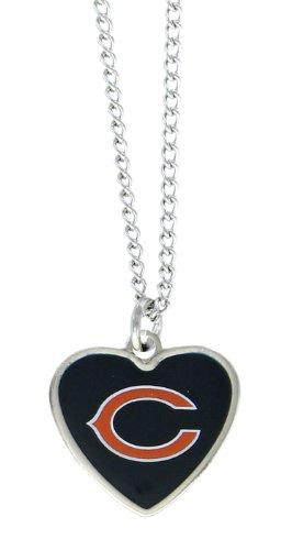 aminco NFL Chicago Bears Color Logo Heart ()