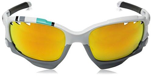 d1857e5515 Oakley Racing Jacket Non-polarized Iridium Oval Sunglasses - Import ...
