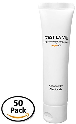 50 Bulk Pack - Moisturizing Body Lotion + Argan Oil By C'EST