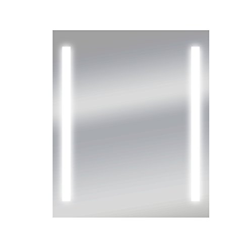 Dyconn Faucet Catella Horizontal/Vertical LED Wall Mounted Backlit Vanity Bathroom LED Mirror with Touch On/Off Dimmer & Anti-Fog Function (30