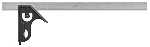 WORKHORSE 3049.13475412 Hi-Precision Combination Square, Flame Hardened Head, 18