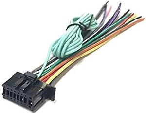 ASC Car Stereo Power Speaker Wire Harness Plug for Pioneer/Premier Aftermarket DVD Nav Radio Avic- 5000nex 5100nex 6000nex 6100nex 7000nex 7100nex 8000nex 8100nex Cdp1666