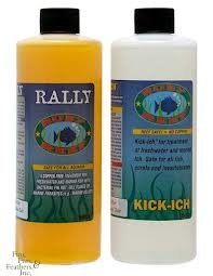 Ounce Reef 16 (Ruby Reef Kick-Ich & Rally Kick-Ich Aquarium Water Treatment Combo Pack , 16oz bottle)