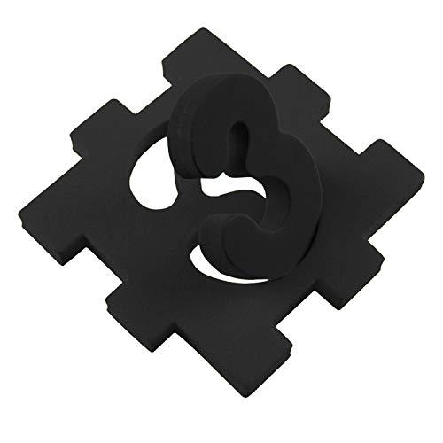 "Crafts Foam Sheets Art Supplies EVA 6Mm Thick BLACK 9 X 12/"" 10 Pack Paper Scrapb"