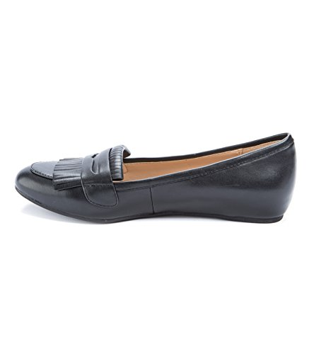 Smooth Oxfords Geller Geller Posy Womens Womens Posy amp; Andrew Flats Andrew Black Flats amp; BqPOwxq