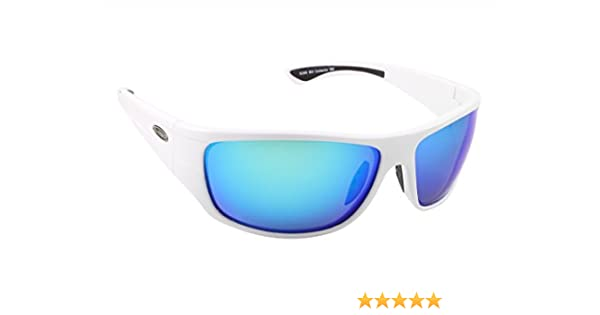 New Sea Striker Sunglasses Thresher Black//Blue Mirror Lenses Polarized 273