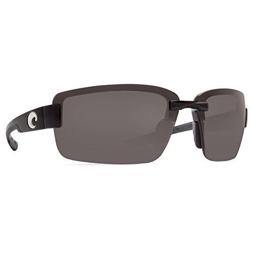 Costa Del Mar Galveston Sunglasses Black / Gray - Sunglasses Del Mar Costa Galveston