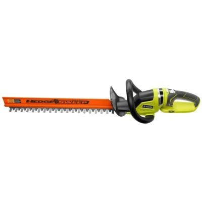 [ONE+ 22 in. 18-Volt Lithium-Ion Cordless Hedge Trimmer - Battery and Charger Not Included] (Ryobi Cordless Hedge Trimmer)