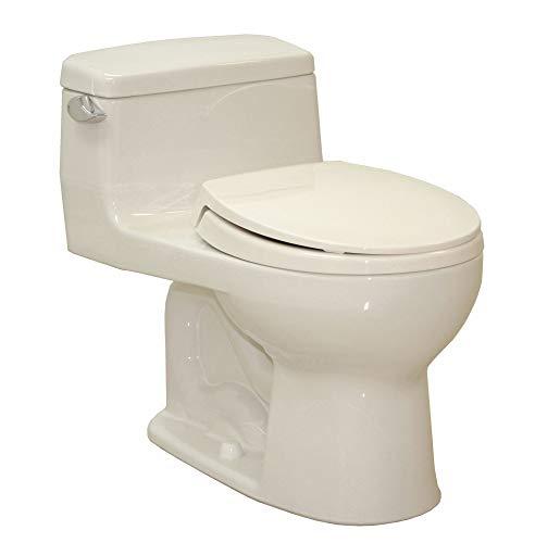 TOTO Supreme One Piece Tank Toilet, 1.6 Gallons per Flush, Sedona Beige