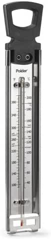 Polder THM-515 Stainless Steel Candy/Jelly/Deep Fry Thermometer