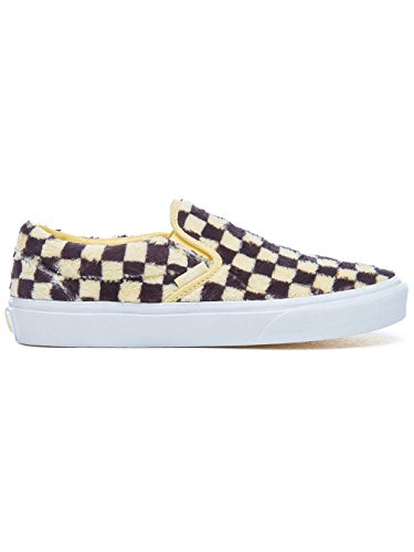 On Sneakers 40 Slip Black Vans Classic Check Furry Sunshine Multicolor OqRnngwB