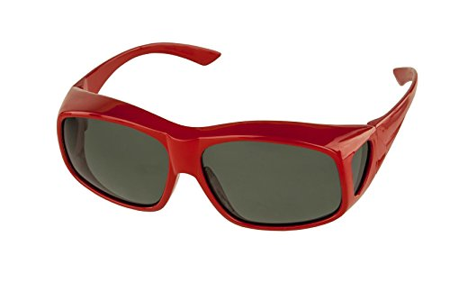 LensCovers Sunglasses Wear Over Prescription Glasses Large ()