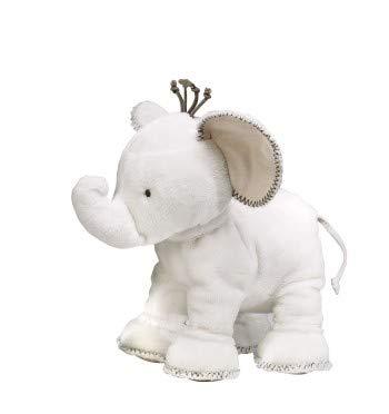 TARTINE ET CHOCOLAT - Peluche Eléphant 25cm Weiß ivoire peluche Tartine et Chocolat Weiß 25cm