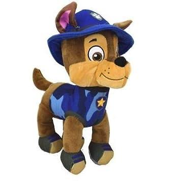 Peluche de la serie de TV patrulla canina, 28 cm, color Chase