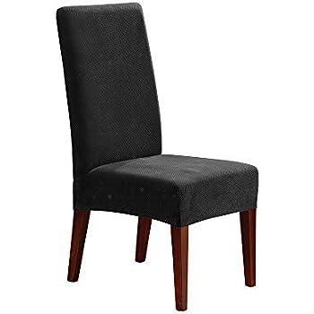 Amazon.com: SureFit Stretch Pique - Shorty Dining Room ...