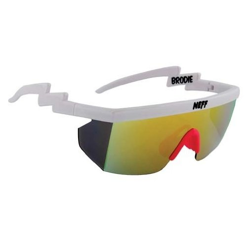 Neff Brodie Wrap Around Sport Sunglasses]()