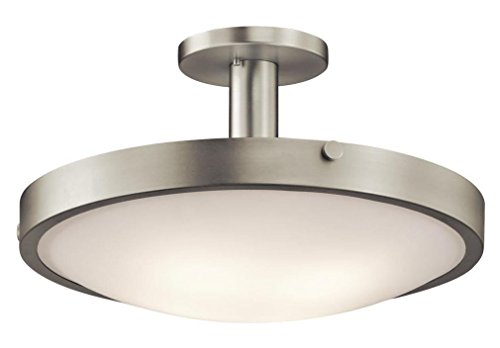 Kichler 42246NI Four Light Semi Flush Mount - Monte Carlo Semi Flush