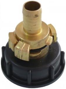 """Adapter für IBC Container IBC Wassertank Anschlussadapter 3//4/"""" Schlauchstück"""