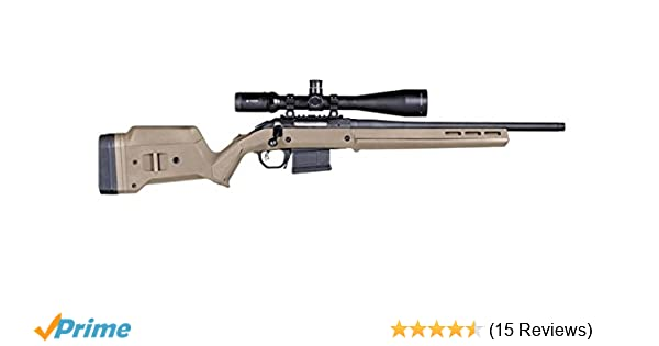 Magpul Industries Hunter American Flat Dark Earth Polymer Fits Ruger  American Short Action Rifles Stock