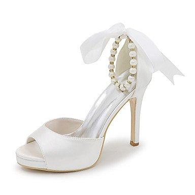 Satin White amp;Amp; Fall Sandals Sandals Shoes Party Summer Evening Spring Women'S Wedding Dress Cx5aZ7q
