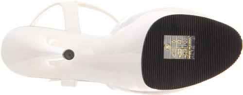 Pleaser DELIGHT-609 Wht Pat/Wht Size UK 8 EU 41