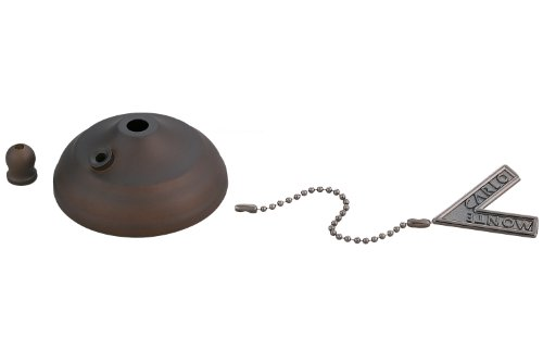 Monte Carlo MC83RB Ceiling Fan Pull Chain Type Bowl Cap Kit, Roman Bronze by Monte Carlo
