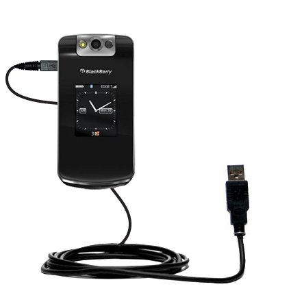 Hot Sync and Charge Straight USB cable for the Blackberry 8210 8220 8230 – Charge and Data Sync with the same cable. Built with Gomadic TipExchange (8220 Usb)
