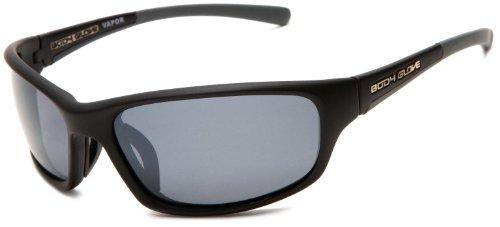 Body Glove Vapor 3 Polarized Sport Sunglasses,Black and Gray Frame/Smoke Lens,one - Sunglasses Bodyglove