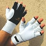 Impacto Ergonomic Anti-Vibration Air Gloves with Wrist Support - Small