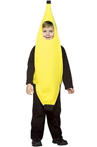 8eighteen Lightweight Banana Toddler Costume - Banana Curl Wig