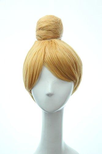 Soul Wigs: Girls Short Blonde Buns Party Costume