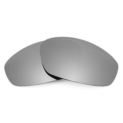 Revant Polarized Replacement Lenses for Oakley Whisker Elite Titanium - Scratch Resistance Titanium