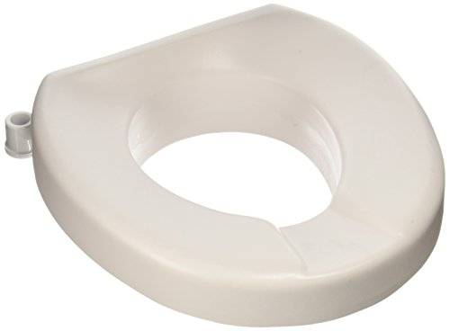Maddak Tall-Ette 2-Inch Elevated Toilet Seat Compatible with Elongated and Standard Toilets (725831002)