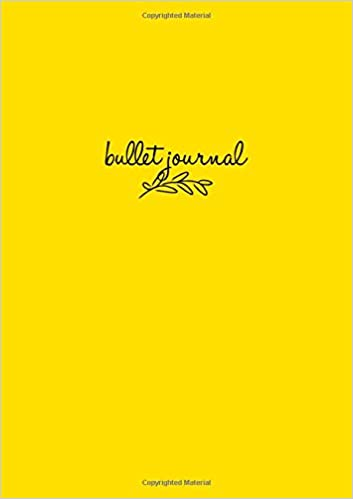 Bullet Journal: Gelb Notizbuch A5 Dotted: Bullet Journal ...
