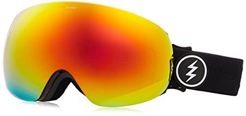 Electric Visual EG3 Gloss Black/Brose Red Chrome Snow - Eg3 Electric Lenses