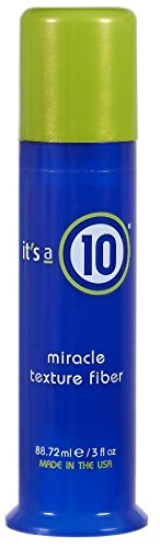 - Its a 10 Miracle Texture Fiber, 3 Ounce