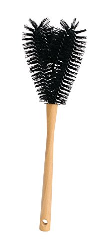 Redecker Lawnmower Blade Brush, Nylon and Oiled Beechwood, 17-1/4-Inches (Eco Friendly Lawn Mowers)
