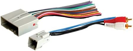 Amazon.com: Stereo Wire Harness Compatible with/Replacement for [Ford] Edge  07 08 09 10 2007 2008 2009 2010 (car radio wiring installation parts):  AutomotiveAmazon.com