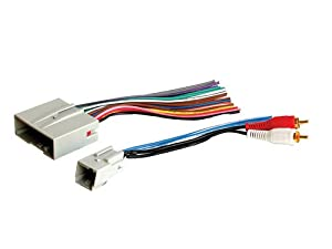 31LmJlPn4TL._SX300_ amazon com stereo wire harness ford mustang 05 06 2005 2006 (car  at gsmportal.co