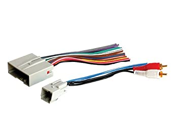 31LmJlPn4TL._SX355_ amazon com stereo wire harness ford fusion 06 07 08 09 2006 2007 fusion marine stereo wiring harness at gsmx.co