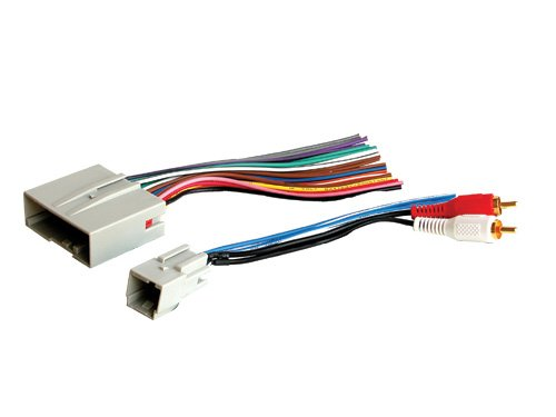 Stereo Wire Harness Ford Escape (seven speaker system) 04 05 06 07 2004 2005 2006 2007 (car radio wiring installation parts)