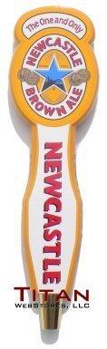newcastle beer tap handle - 1